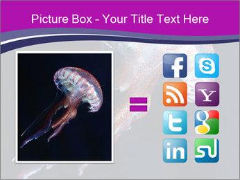 Mauve stinger PowerPoint Template - Slide 21