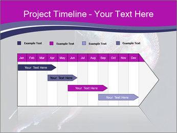 Mauve stinger PowerPoint Template - Slide 25