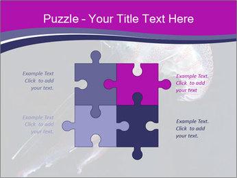 Mauve stinger PowerPoint Template - Slide 43