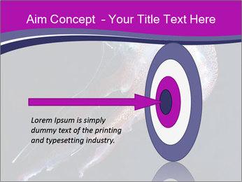 Mauve stinger PowerPoint Template - Slide 83
