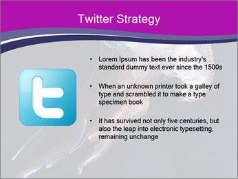 Mauve stinger PowerPoint Template - Slide 9