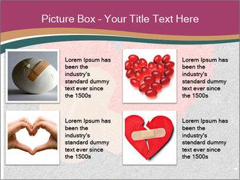 Broken heart PowerPoint Templates - Slide 14