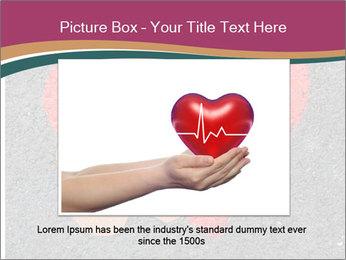 Broken heart PowerPoint Template - Slide 15