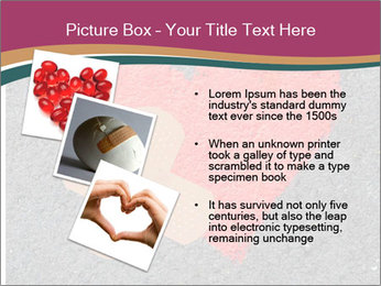 Broken heart PowerPoint Template - Slide 17