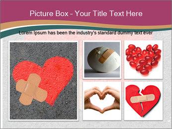 Broken heart PowerPoint Template - Slide 19