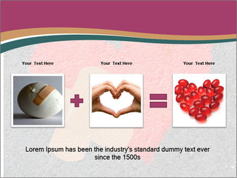 Broken heart PowerPoint Template - Slide 22