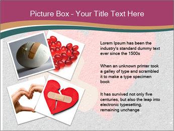 Broken heart PowerPoint Templates - Slide 23