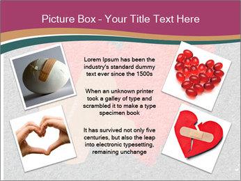 Broken heart PowerPoint Template - Slide 24