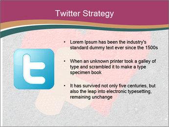 Broken heart PowerPoint Template - Slide 9