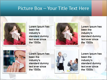 Young woman PowerPoint Template - Slide 14