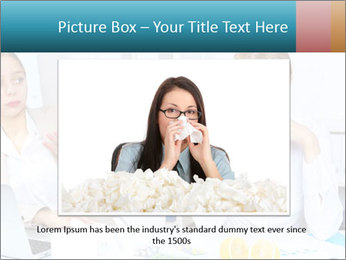 Young woman PowerPoint Template - Slide 15