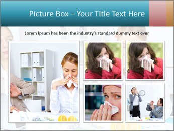 Young woman PowerPoint Template - Slide 19