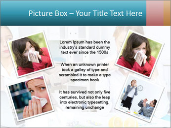 Young woman PowerPoint Template - Slide 24