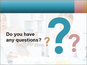 Young woman PowerPoint Template - Slide 96