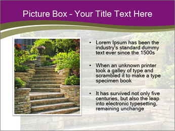 Natural stone stairs PowerPoint Template - Slide 13