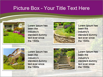 Natural stone stairs PowerPoint Template - Slide 14