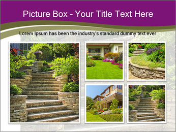 Natural stone stairs PowerPoint Template - Slide 19