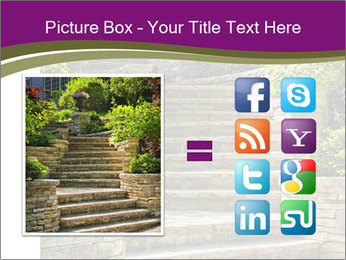 Natural stone stairs PowerPoint Template - Slide 21