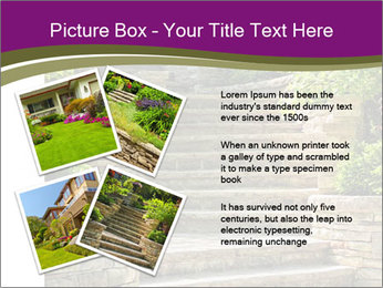 Natural stone stairs PowerPoint Template - Slide 23