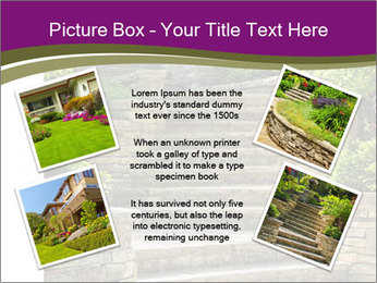 Natural stone stairs PowerPoint Template - Slide 24