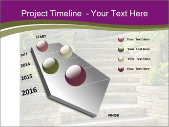 Natural stone stairs PowerPoint Template - Slide 26