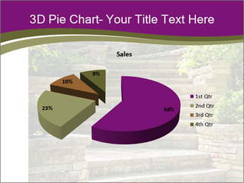 Natural stone stairs PowerPoint Template - Slide 35
