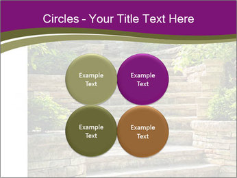 Natural stone stairs PowerPoint Template - Slide 38