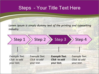 Natural stone stairs PowerPoint Template - Slide 4