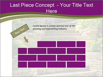 Natural stone stairs PowerPoint Template - Slide 46
