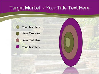 Natural stone stairs PowerPoint Template - Slide 84