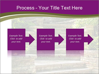Natural stone stairs PowerPoint Template - Slide 88