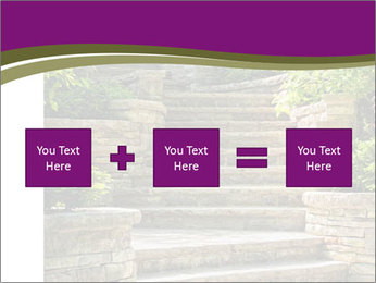 Natural stone stairs PowerPoint Template - Slide 95