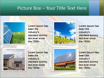 House with garden PowerPoint Template - Slide 14