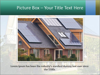 House with garden PowerPoint Template - Slide 16