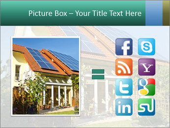 House with garden PowerPoint Template - Slide 21