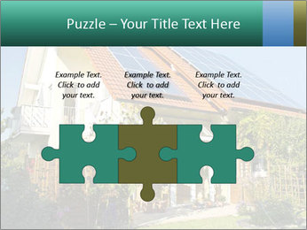 House with garden PowerPoint Templates - Slide 42