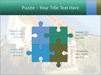 House with garden PowerPoint Templates - Slide 43