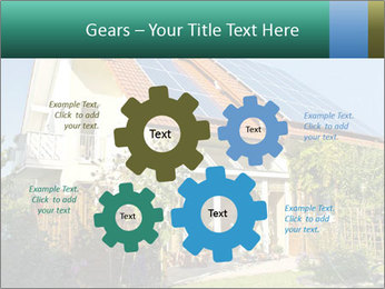 House with garden PowerPoint Templates - Slide 47