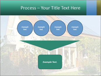 House with garden PowerPoint Template - Slide 93