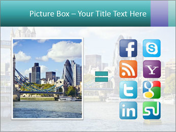 Financial District of London PowerPoint Template - Slide 21