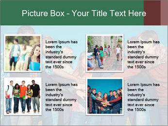 Happy College Students PowerPoint Templates - Slide 14