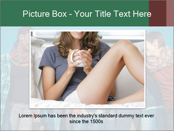 Happy College Students PowerPoint Template - Slide 15