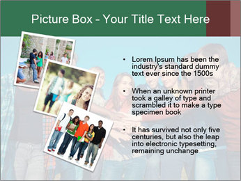 Happy College Students PowerPoint Template - Slide 17