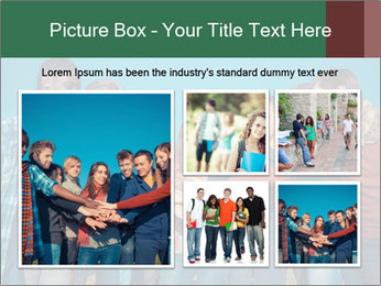 Happy College Students PowerPoint Templates - Slide 19