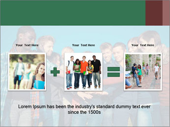 Happy College Students PowerPoint Templates - Slide 22