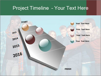 Happy College Students PowerPoint Templates - Slide 26