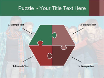 Happy College Students PowerPoint Templates - Slide 40