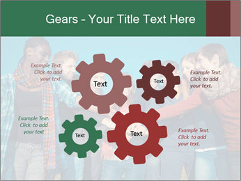 Happy College Students PowerPoint Templates - Slide 47