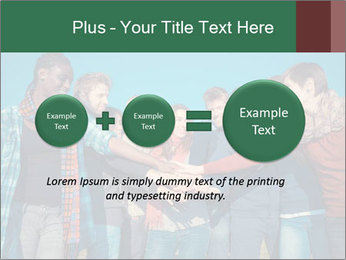 Happy College Students PowerPoint Templates - Slide 75