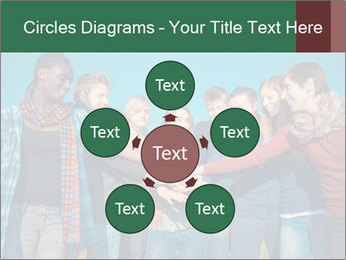 Happy College Students PowerPoint Templates - Slide 78